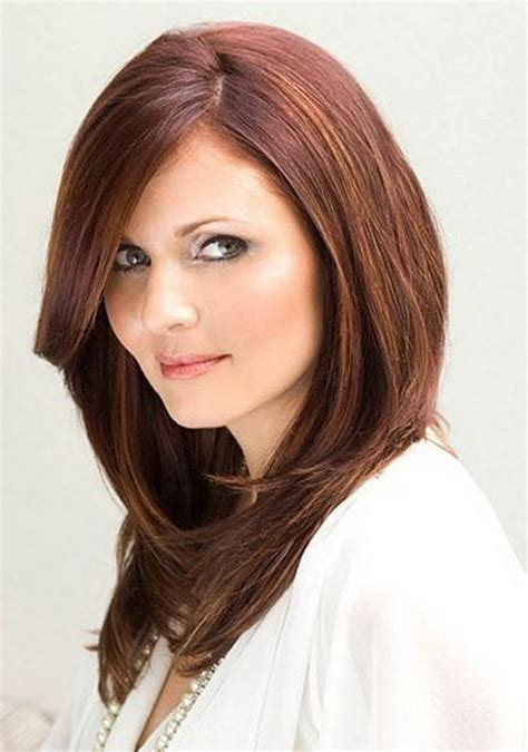 haircut for round face and long hair long hair layered haircuts for round faces