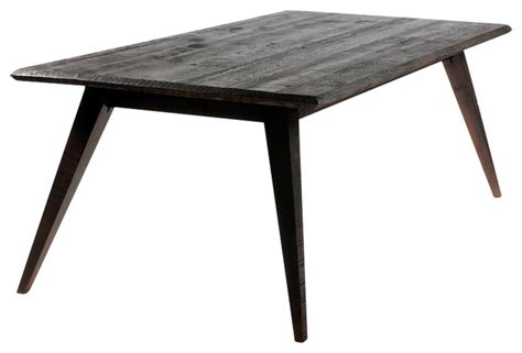 Hemingway Dining Table Hemingway Dining Table Oak Gray Wash Midcentury Dining Tables By Reclamation Company