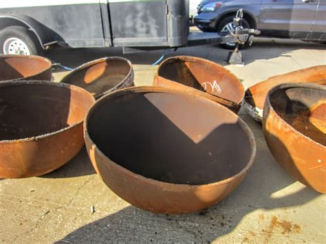 Steel Fire Pit Bowl - metal what can i use as a bowl for a diy fire bowl pit home improvement stack exchange