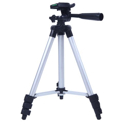 Tripod Pro 3110a pro tripod stand 4 section lightweight portable aluminum mini tripods for canon