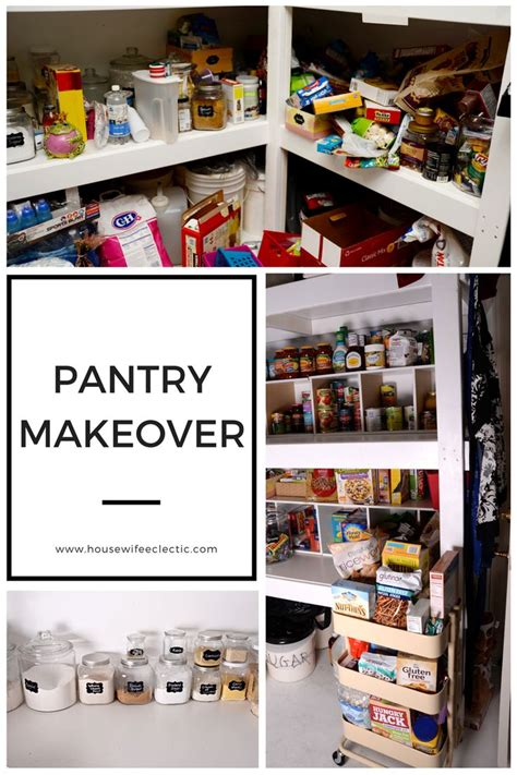 pantry makeover pantry makeover pantry eating healthy and healthy