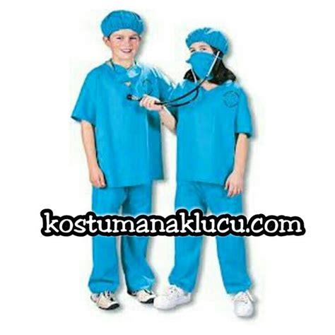 Baju Setelan Anak Senhukai 3pc kostum anak dokter bedah kostum anak lucu