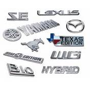 Emblems Custom Oem Badging Car Auto Truck  2016 Release Date