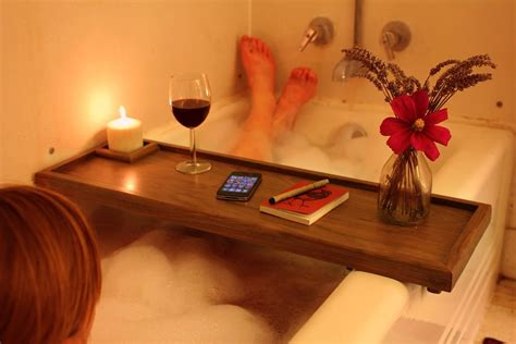 bathtub reading taking a bath with bath reading tray decor around the world