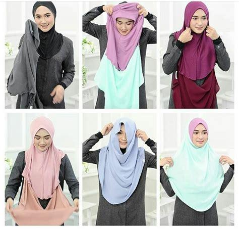 Nayla Syari Ada Warna asmi collections tudung labuh terkini tudung shawl terkini
