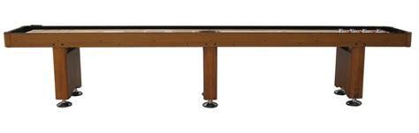 14 honey oak playcraft woodbridge shuffleboard table