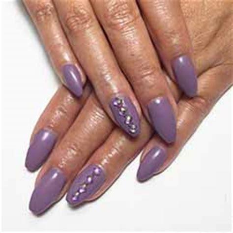 Modele Ongle Gel Violet by Ongle En Gel Violet Deco Ongle Fr