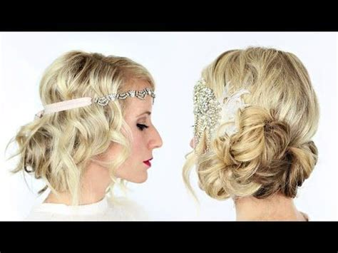 the great gatsby inspired hairstyle tutorial alldaychic best 20 gatsby hairstyles ideas on pinterest
