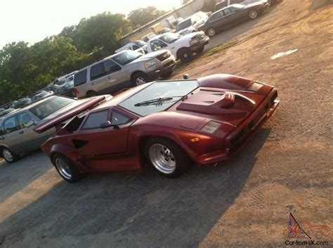 Lamborghini Countach Replica For Sale Uk Lamborghini Countach Replica 1989