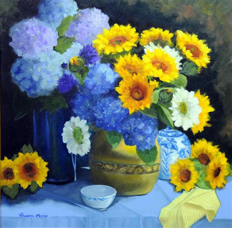painting colours complementary colors painting by roseanne peters