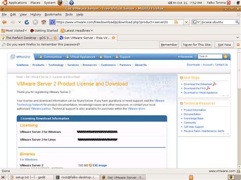 tutorial install ubuntu server di virtualbox ubuntu 8 10 server vmware virtual machine l