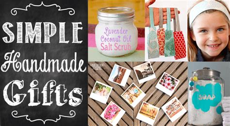 simple handmade gifts part eight one thing by jillee