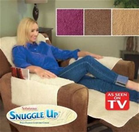 new snuggle up recliner seat cover with 4 easy storage