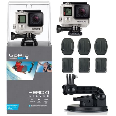 Gopro 4 Silver Edition gopro hd 4 silver edition motorsports package