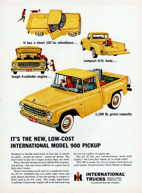 Low Cost Trucks by It S The New Low Cost International Model 900