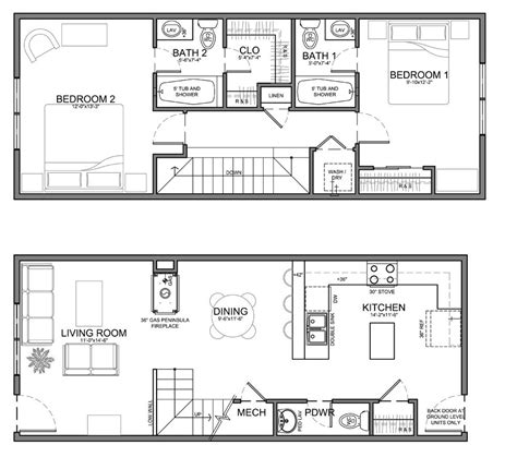 Small Size House Plans by Small House Plans This Unit Is About The Same