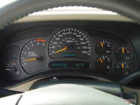 2004 chevy silverado problems with instrument cluster