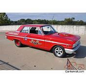 Ford Fairlane Drag Race Car Pictures