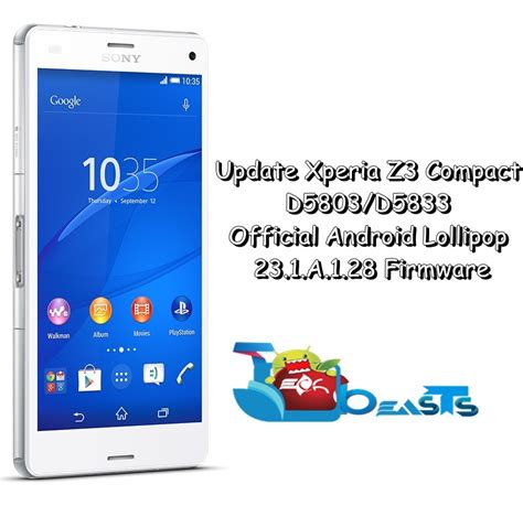 android themes z3 compact update xperia z3 compact d5803 d5833 to official android