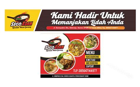 design banner menu makanan