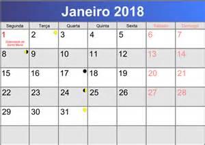 Calendã Janeiro 2018 Calend 225 Janeiro 2018 Printable Pdf Abc Calendario Pt