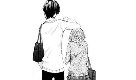anime couple tall guy short girl crunchyroll short girls with tall guys group info