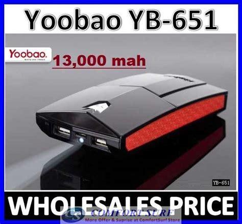 Power Bank Yoobao Yb 651 Yoobao Yb 651 13000mah Power Bank Portable Battery Charger