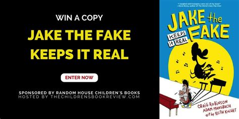 Book Giveaways 2017 - jake the fake keeps it real book giveaway the childrens book review