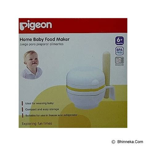 Pigeon Home Baby Food Maker Alat Mpasi jual produk kebutuhan baby food processor pigeon home baby food maker pr050311 murah