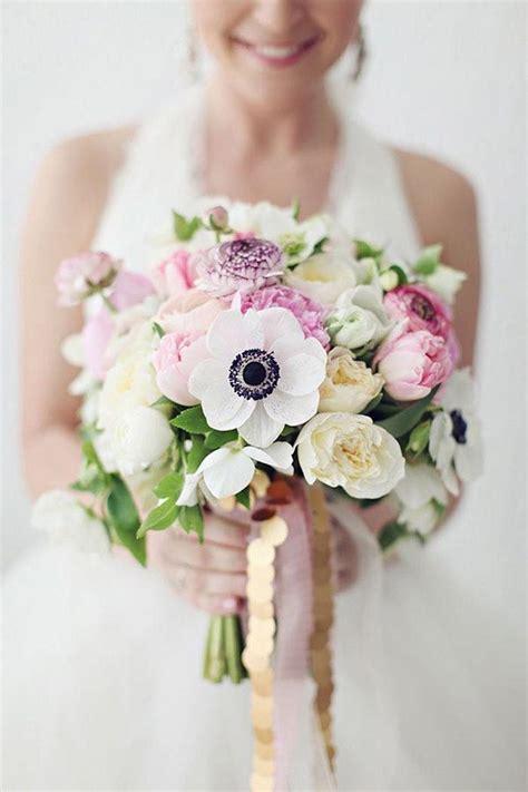 anemone bouquet gorgeous anemone bouquet ideas modwedding