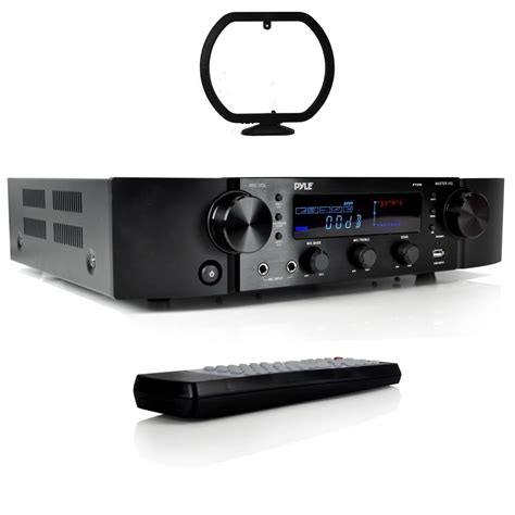 pyle bluetooth hybrid pre amplifier home theater stereo