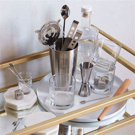 best barware set 30 piece barware starter set west elm