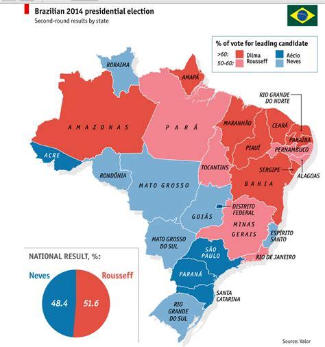 map brazil states preliminary observations on brazil s 2014 presidential