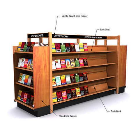 books for display book display gondola stationeryinfo com