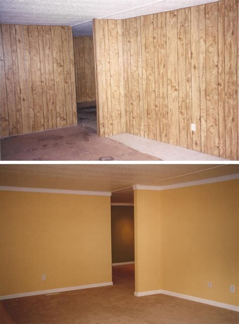 wood paneling basement update wood panels don t remove replace ask me how