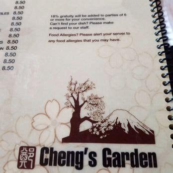 Cheng Garden Menu by Cheng S Garden 135 Photos 39 Reviews 3304