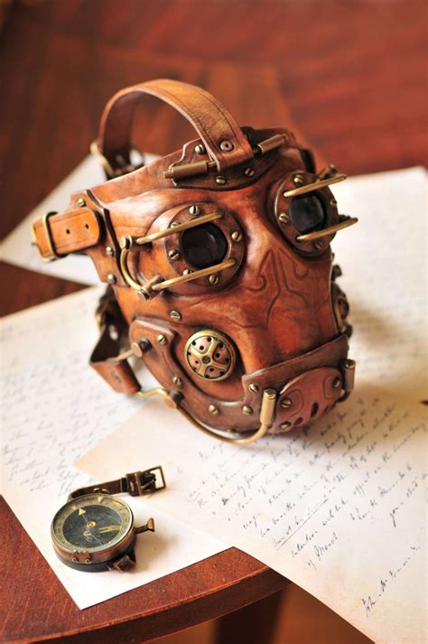 7 Cool Masks by Leather Steunk Gas Mask By Denbow On Deviantart