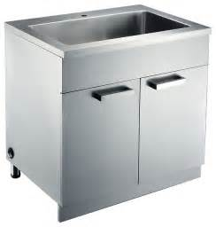 Metal Kitchen Sink Cabinet Unit Stainless Steel Sink Base Cabinets Kitchen Cabinetry San Francisco By Kitchen Bath