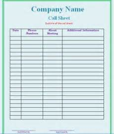 call list template pin call sheet template on