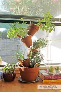 diy herb planter these diy miniature indoor garden projects are great for