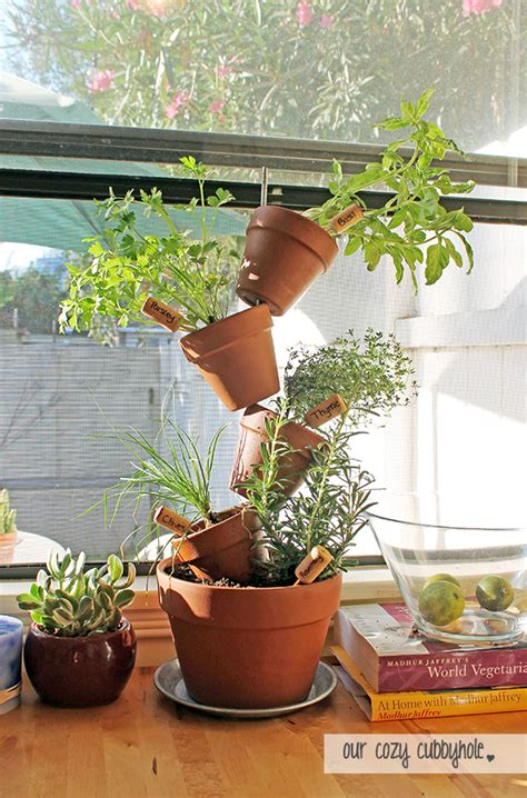 diy herb garden stylish diy planters for spring