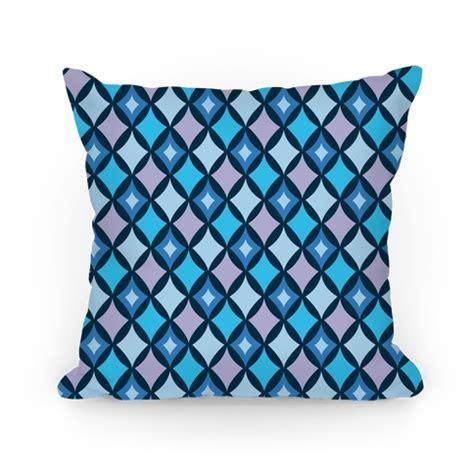 blue pattern pillow cases diamond pattern pillow blue pillows and pillow cases