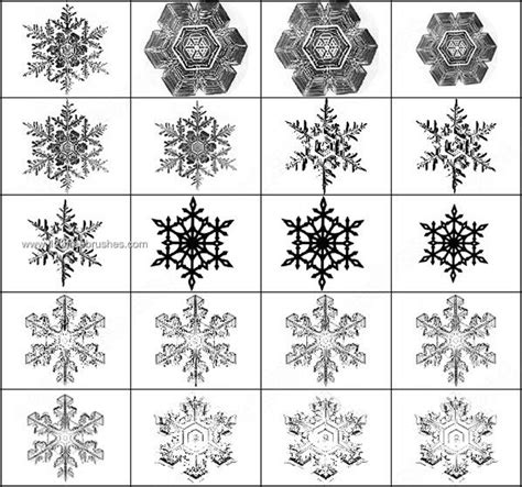 design elements for photoshop free snowflakes photoshop brushes photoshop free brushes