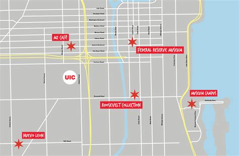 Uic Search 100 Uic Cus Map Dual Exhibitions Explore The Future And Past Of Uic