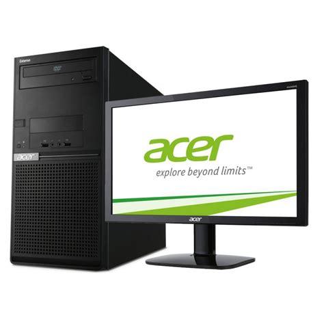 Pc De Bureau Acer Extensa Em2610 Avec 233 Cran Acer 20 Pouces Pc De Bureau Acer