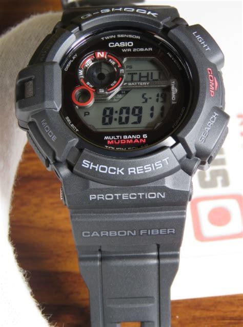 Casio G Shock Gw 9300 brand new gshock mudman carbon fiber gw 9300 1jf atomic