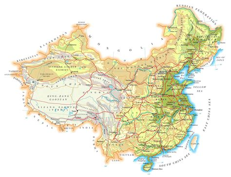 printable maps china china maps printable maps of china for download