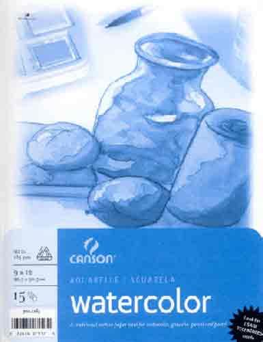 canson water colour pad a3 15 sheet toko sigma