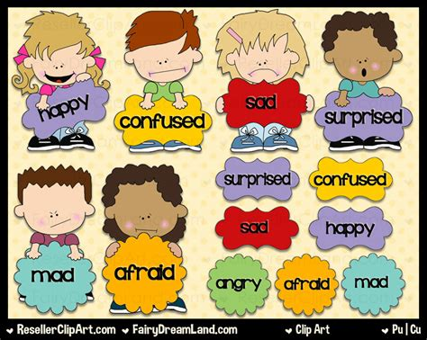 clipart emotions feelings clipart child emotion pencil and in color