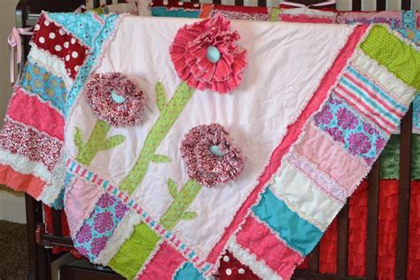 Free Flower Quilt Patterns by Free Quilt Pattern Ruffled Flower Rag Quilt